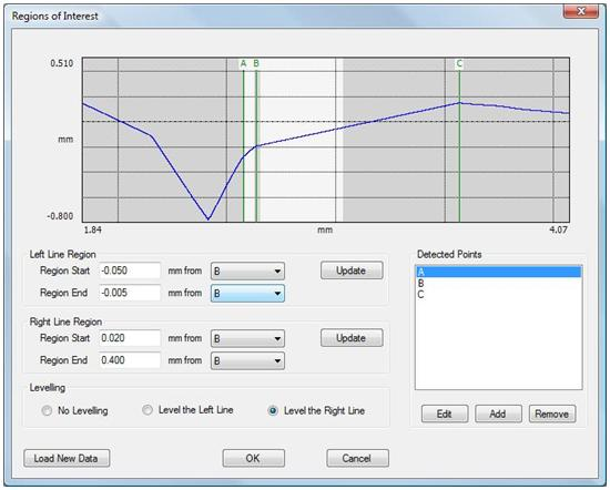 Digital Metrology's Blender software - measure and analyze blend radius, corner radius, chamfer, edge break.