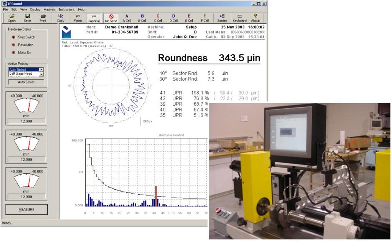 Digital Metrology MultiProbe_Roundness Measurement