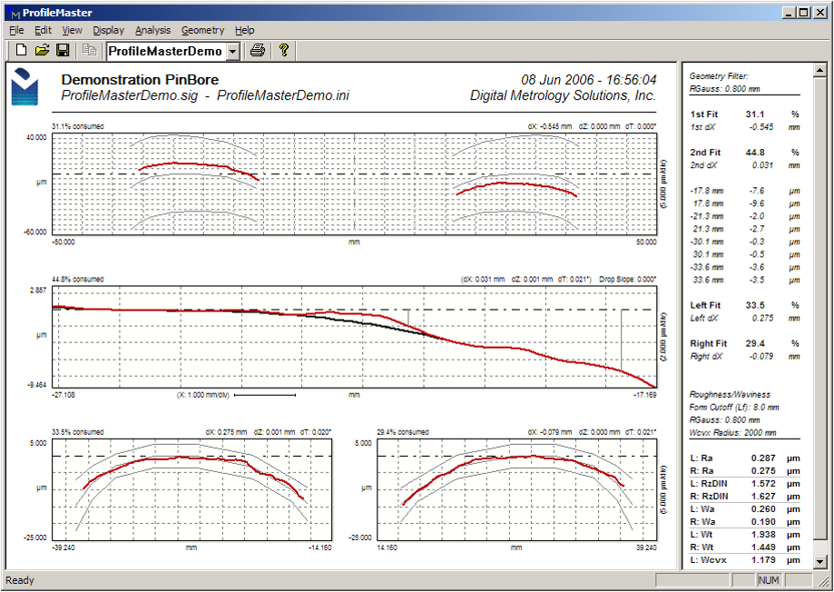 Digital Metrology-ProfileMaster Stress Concentration Detection Software