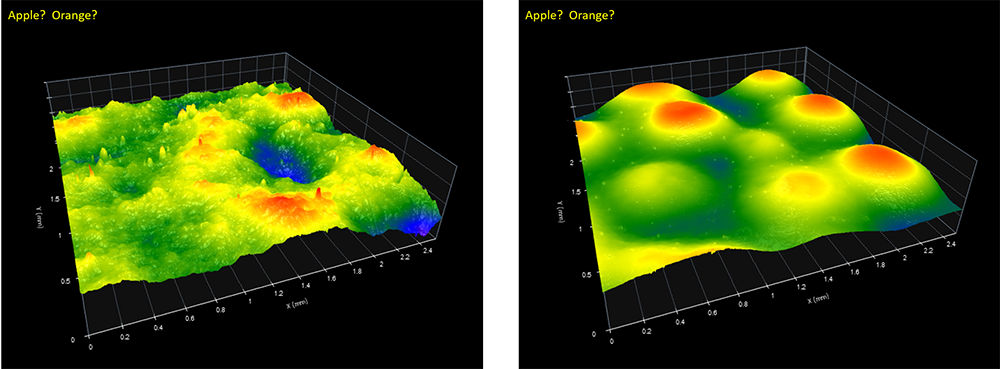 Digital Metrology - Apples to Oranges - lateral scaling
